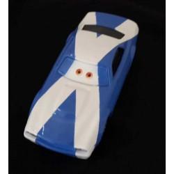 Schotsevlag op auto voorbeeld
