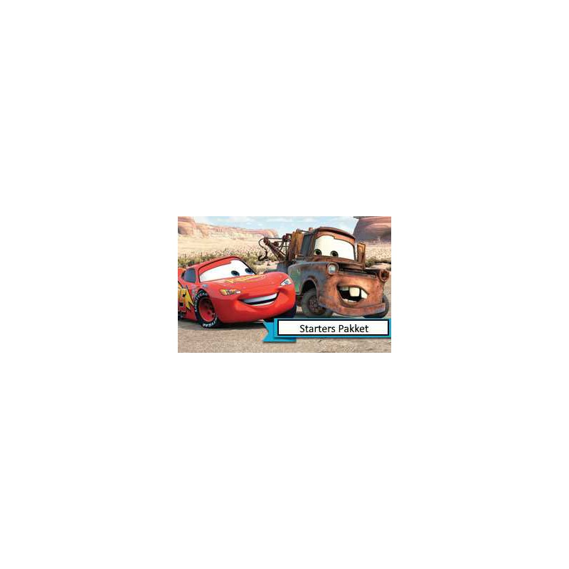 Disney Cars Starter Pakket
