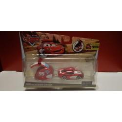 Lightning McQueen met caravan