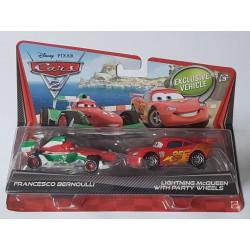 Bliksem Lightning McQueen en Francesco Bernoulli